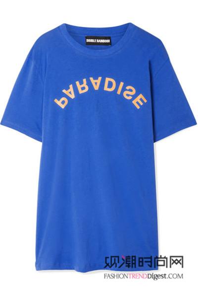 夏天来件色彩T恤,让你重拾自信