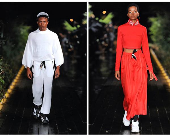 Reebok by Pyer Moss 掀起2019春夏纽约时装周复古运动时装风