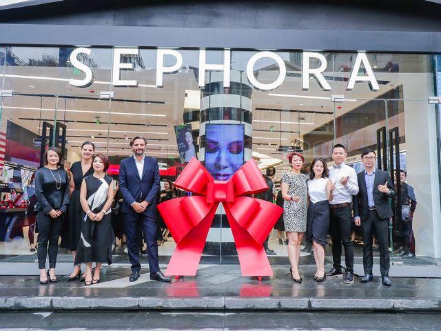 丝芙兰SEPHORA亚洲首家概念店盛大开幕
