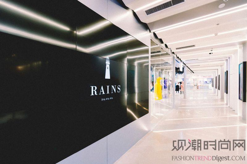Rains上海世茂新店带你体...