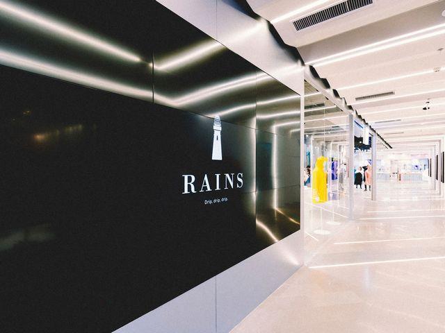 Rains上海世茂新店��你�w���一�o二的Rains Edit