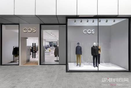 COS全球首间男装专门店现已...