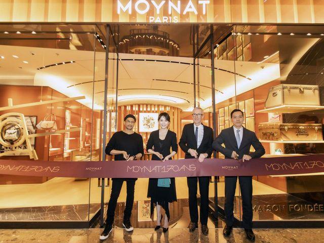 摩奈MOYNAT揭幕全新上海ifc精品店 于沪上续写巴黎优雅传奇