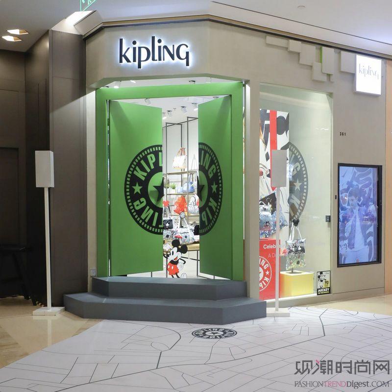 Kipling港汇全新概念店...