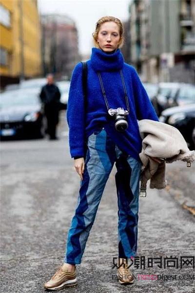 秋冬必备!高领毛衣让你暖身暖心!