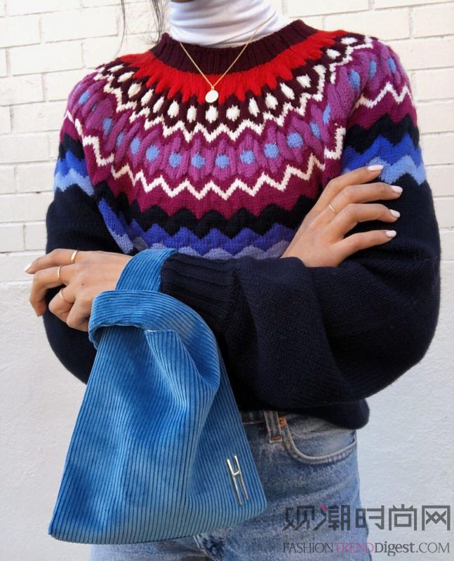这样的毛衣 可以给你多一点暖意