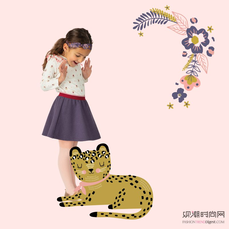 孩子眼中的世界 法国童装品牌...