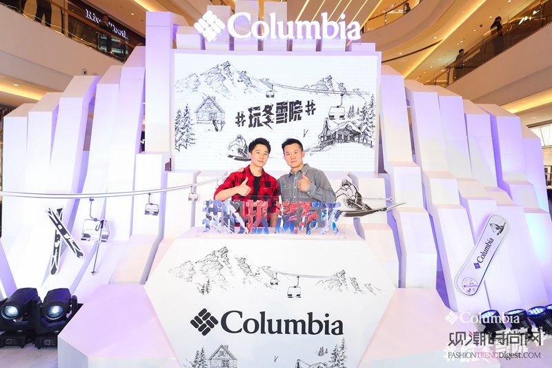 Columbia携品牌代言人...