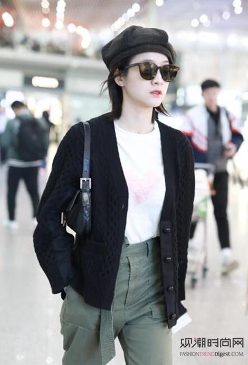 华语时尚女明星们最新街拍,美翻天