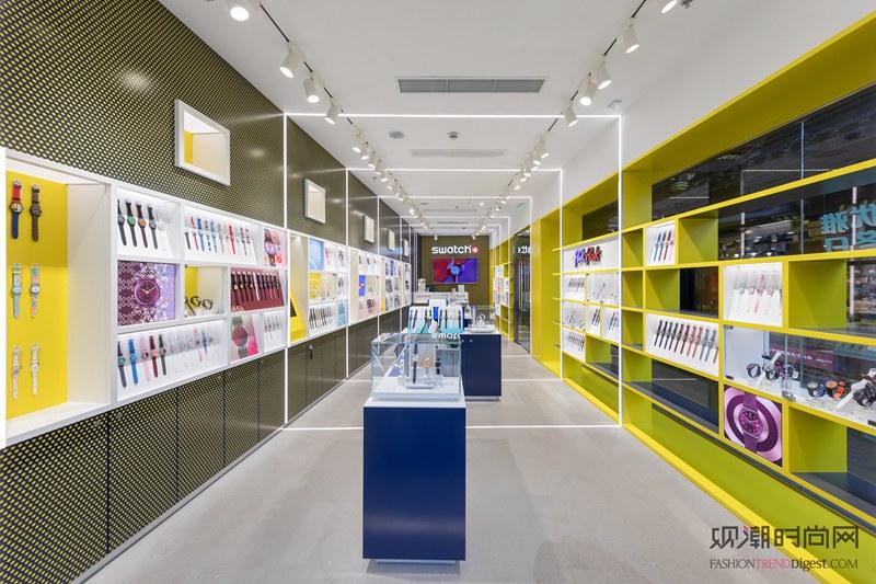 斯沃琪上海豫园概念店精彩开幕...