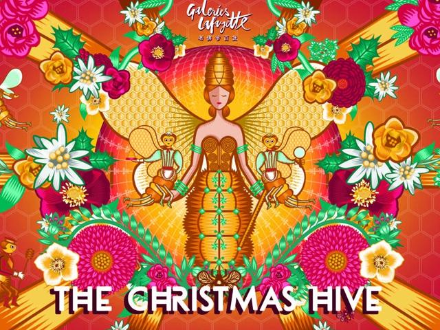 老佛爷百货化身奇幻蜂巢 邀您一同开启无可BEE拟的缤纷圣诞季