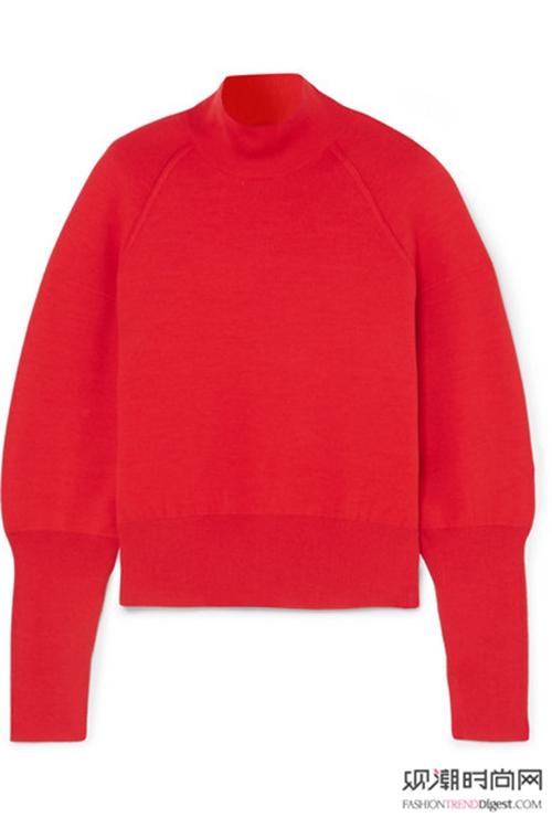 秋冬穿红色,美艳动人超精神!