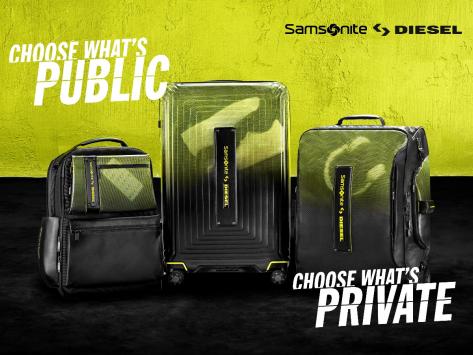 秀我想秀,藏我所藏 Samsonite X Diesel 联名合作系列产品全球限量发售