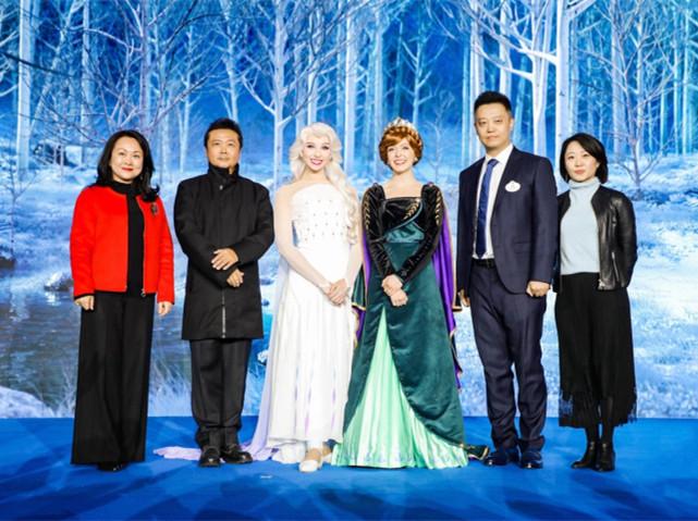 国贸商城与迪士尼合作  女王艾莎、安娜倾献2019节日季冰上奇缘