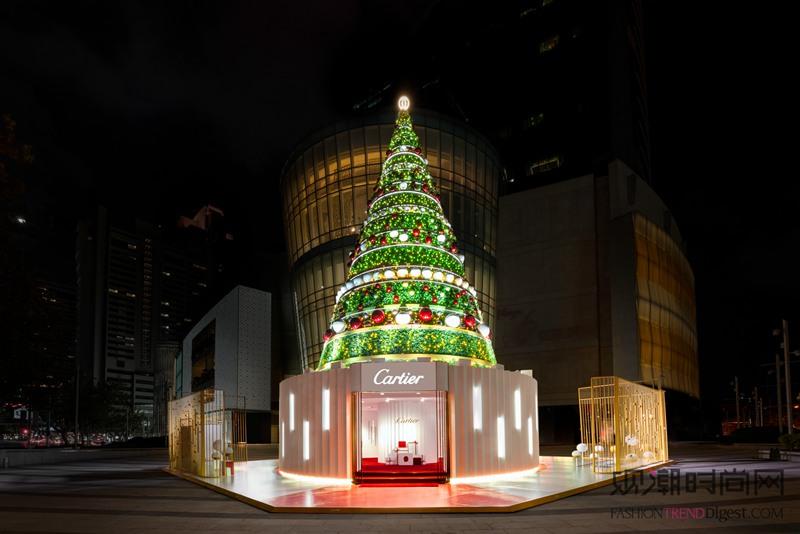 璀璨冬日,乐响圣诞 卡地亚与...