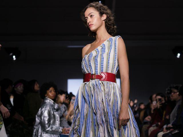 设计师品牌MarkGong 2019秋冬成衣系列首次亮相纽约时装周