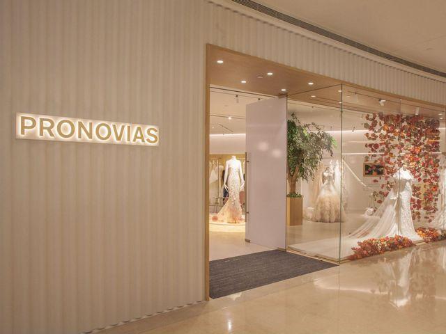 Pronovias 亚洲首家旗舰店沪上开业