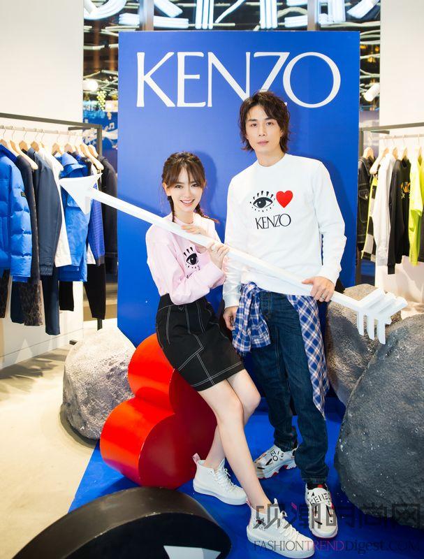 I LOVE KENZO胶囊...