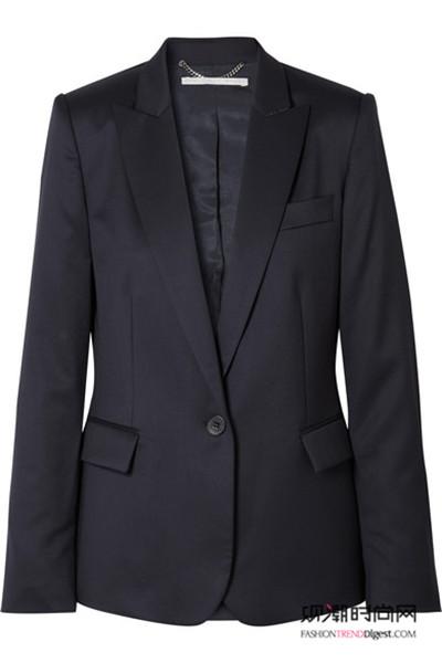 今年春天流行长款西装外套!