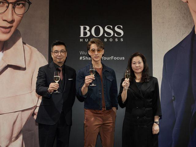 聚焦你的目光 逐梦分秒时刻 BOSS眼镜携手亚太区代言人吴尊亮相上海