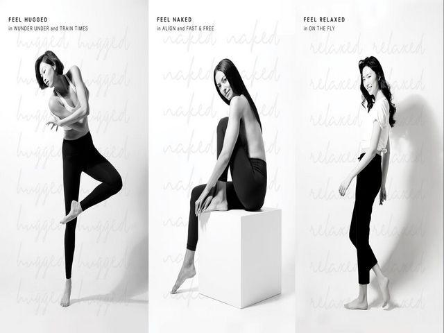 "lululemon裤装系列兼具功能性及情感联结 带来""裸感"" (Naked)、""包裹感""(Hugged)及""轻松感""(Relaxed)三种体验"