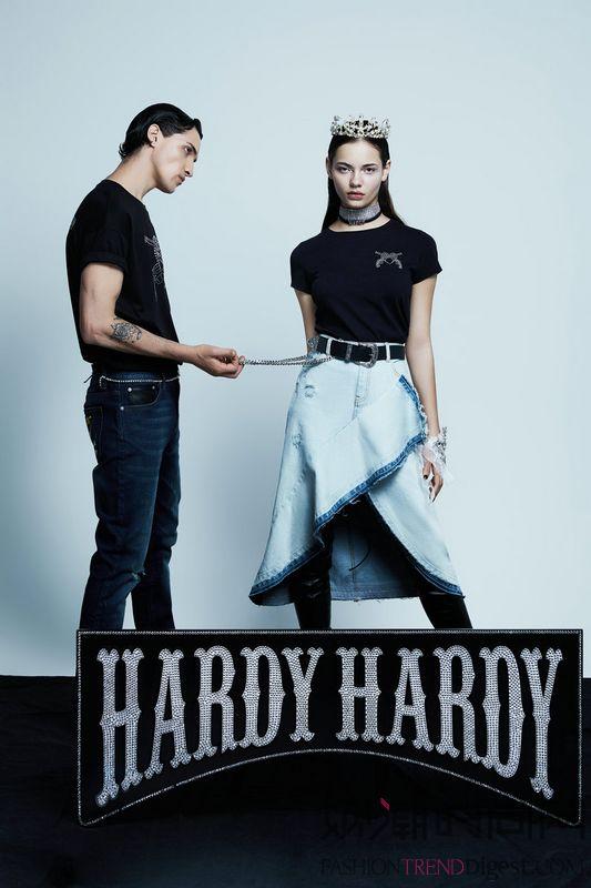 HARDY HARDY 2019春夏摇滚狂想曲Mind over Metal发布 闪耀着施华洛世奇®元素光芒