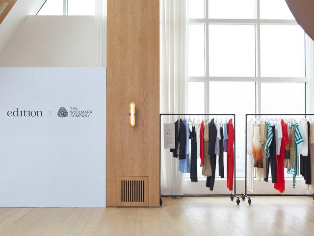 Edition × The Woolmark Company 合作系列于上海发布