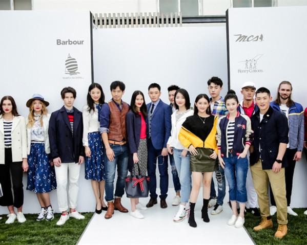 中国服饰邀您体会春夏男装的美式浪漫