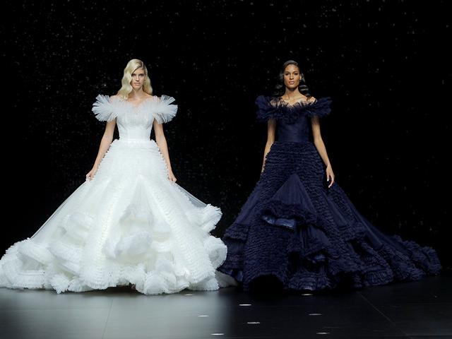 巴塞罗那Valmont Bridal 婚纱时装周 PRONOVIAS 群星闪耀助阵全新婚纱系列发布