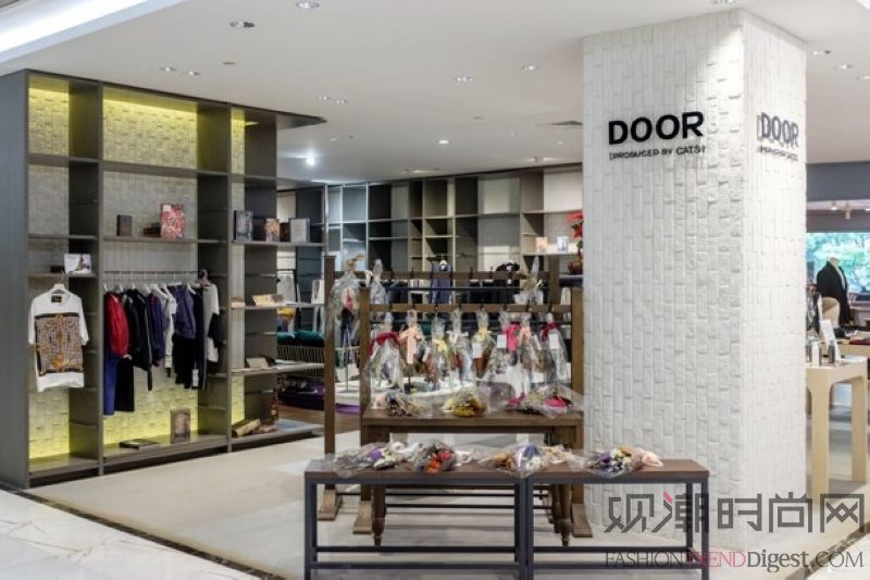 日本品牌集合店DOOR pr...