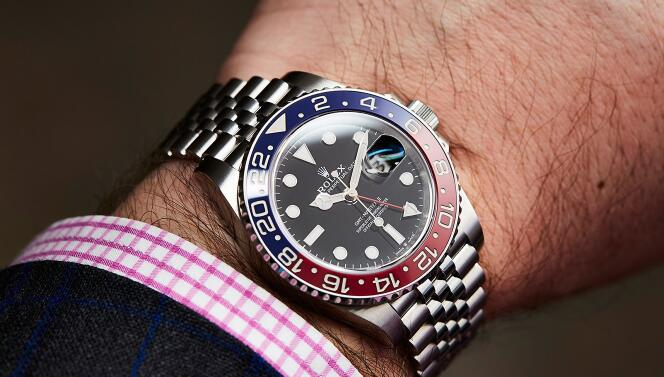 手表能不能和男人的�富�煦^?