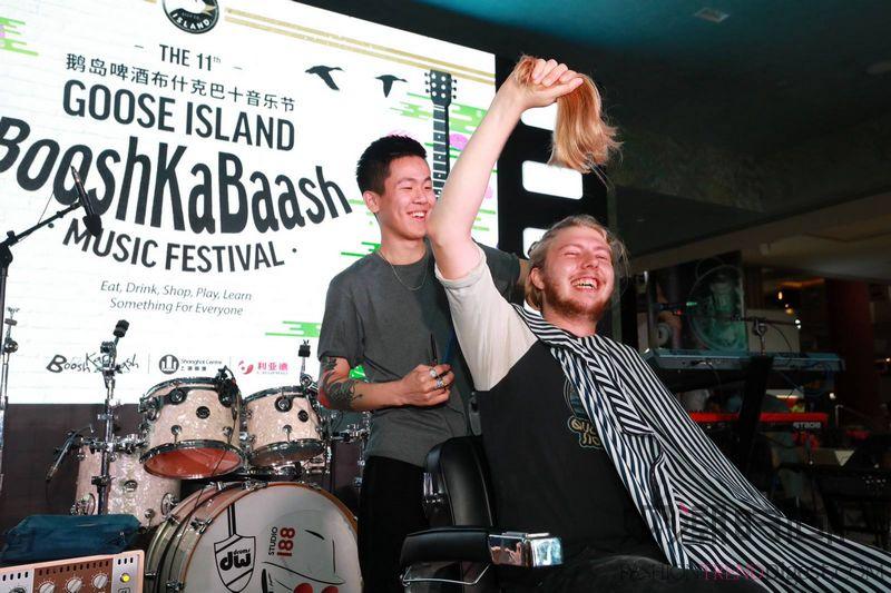 鹅岛布什卡巴十音乐节 和大鹅...