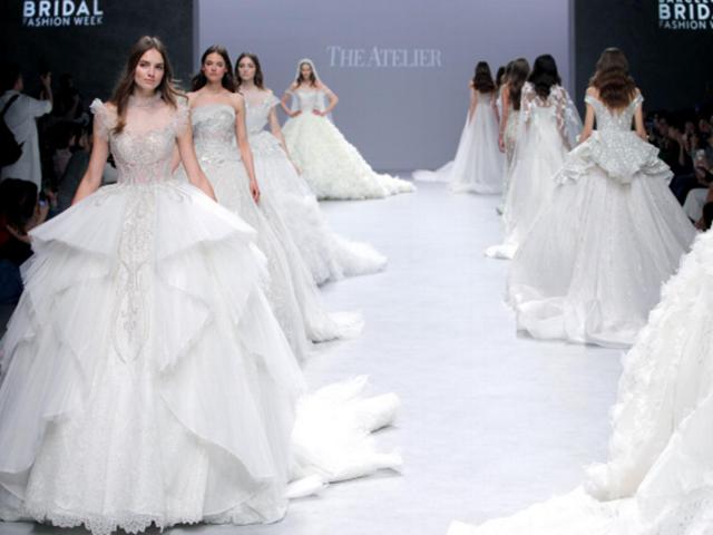 华裔设计师品牌THE ATELIER高定婚纱惊艳世界