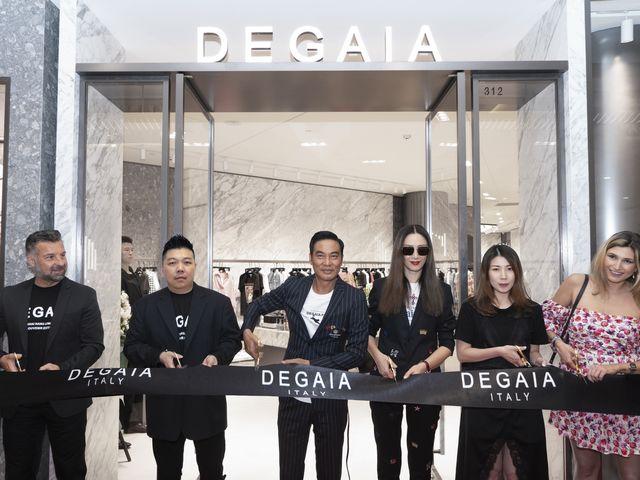 意大利品牌DEGAIA上海恒隆旗舰店开幕――演绎复古可持续时尚
