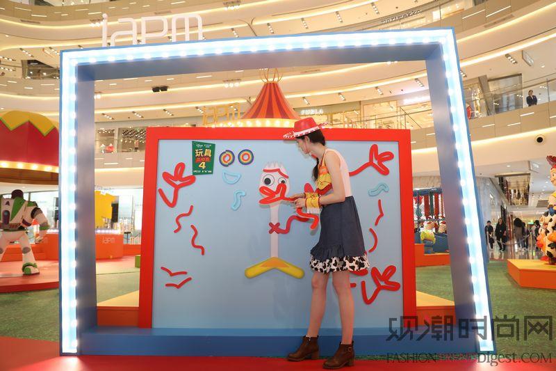 《玩具总动员4》电影主题展 ...
