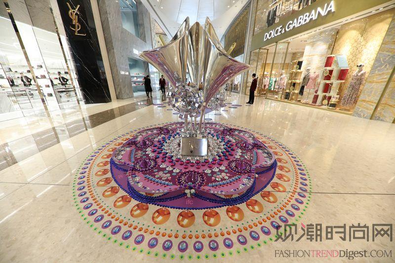 上海ifc商场 夏日鎏光溢彩...