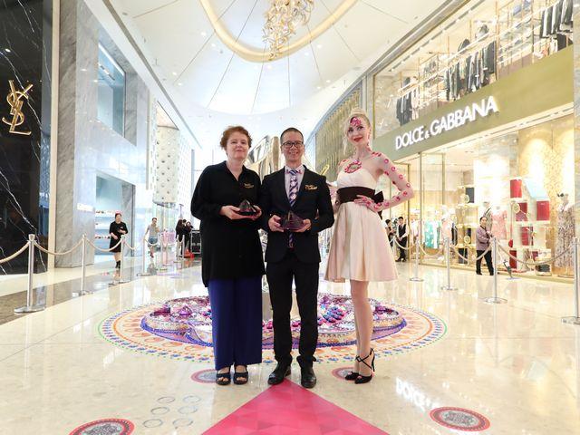 上海ifc商场 夏日鎏光溢彩装置艺术展