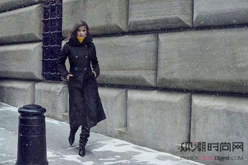 Mackage19秋冬广告大片