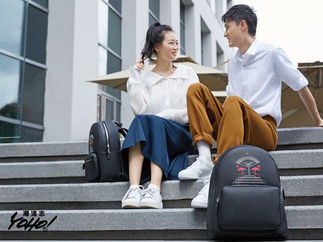 万宝龙携手设计师品牌BING XU发布限定款双肩包
