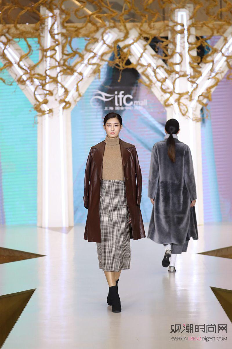 上海ifc商场 霓裳翩翩秋冬...