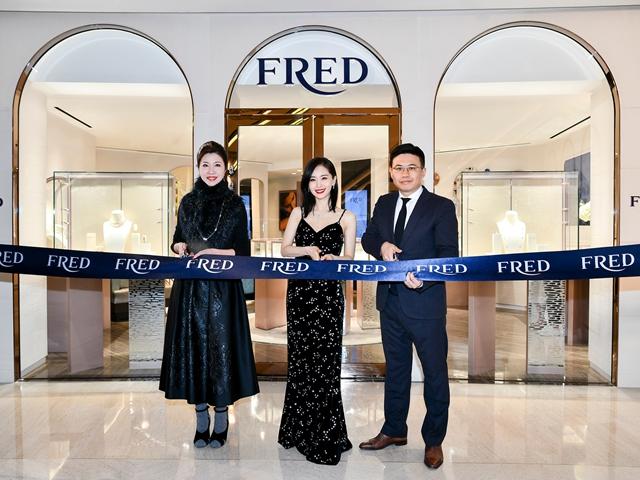 FRED斐登上海港汇恒隆与上海恒隆广场精品店盛大揭幕