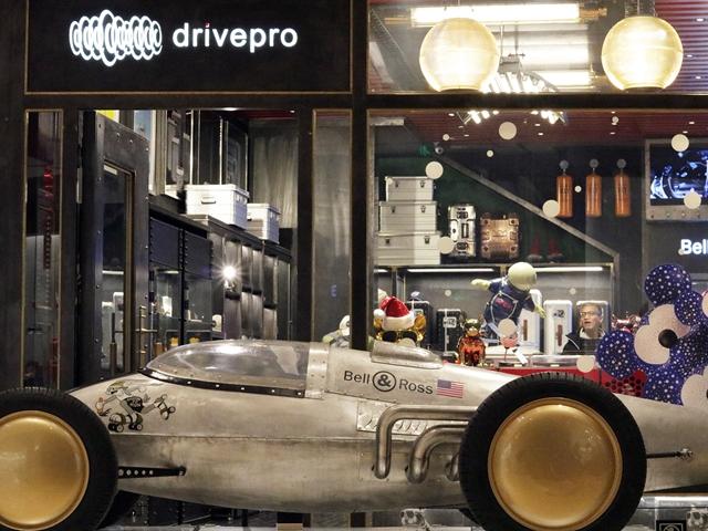 """与时间竞速,与时光角逐 超级赛车""""Bellytanker""""亮相上海兴业太古汇"""