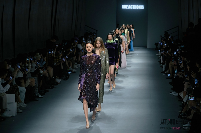 极致绽放Bloom in Full ――RUE AGTHONIS 2021春夏系列优雅登陆上海时装周