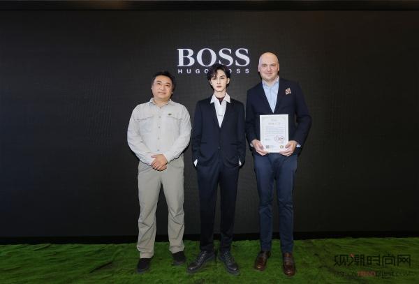 BOSS品牌Z世代大使朱正廷...