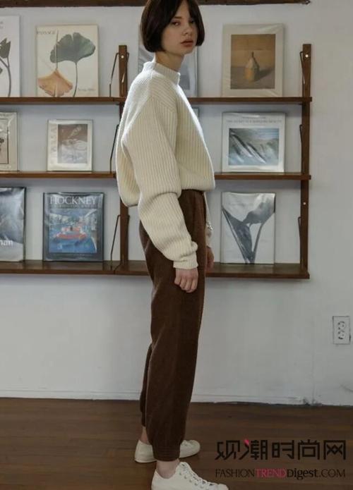 超级温柔!毛衣+牛仔裤