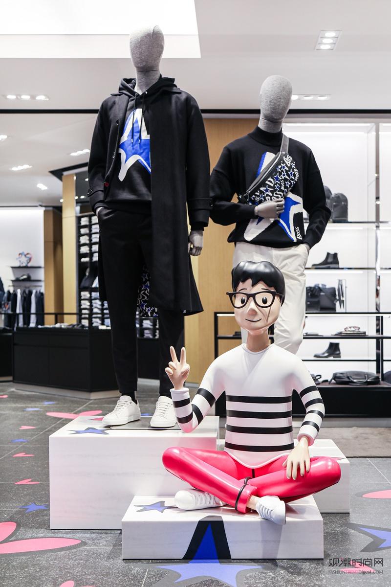 BOSS全球代言人李易峰亮相...