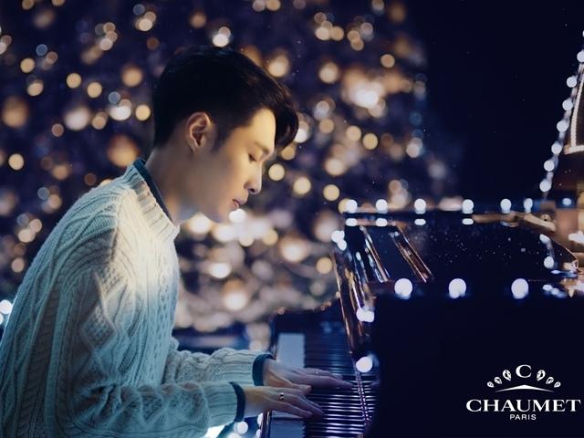 【CHAUMET信念即魔力】品牌大使张艺兴点亮CHAUMET圣诞心之印记