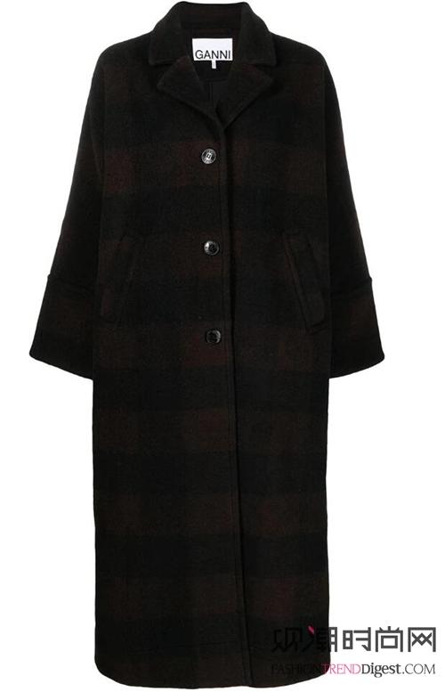 大衣+裙子!这种搭配美翻天