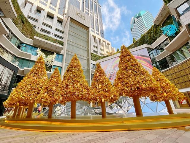 璀璨光耀点亮金色瞬间 上海K11艺述圣诞季闪耀来袭