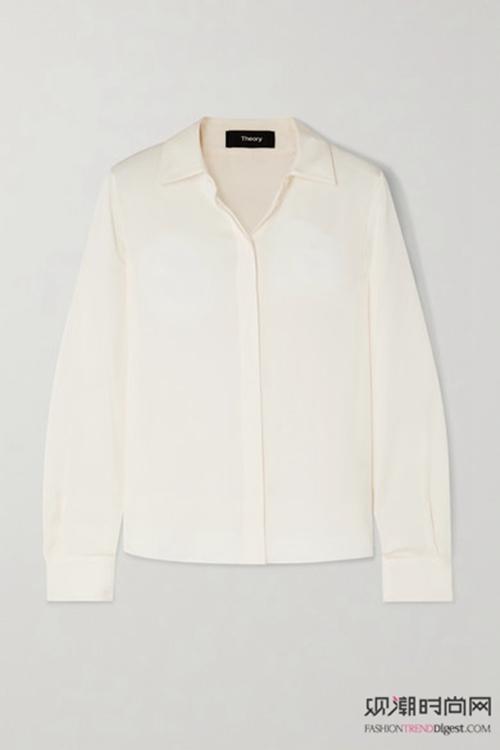 专属春天的白衬衫,清新风